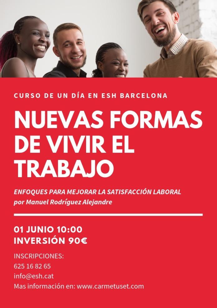 Taller NUEVAS FORMAS Barcelona 2019
